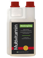Workingdog Multivitamin 500ml